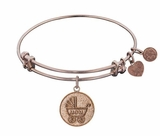 Angelica New Mom Gift - Rose Gold New Mom Bracelet