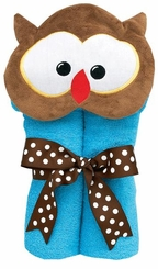 Animal Tubbies Towel - OWL - SOLD OUT