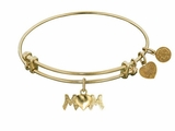 Antique Gold Mom Bracelet - Mother's Day or Mom Gift