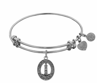 Antique Silver Lighthouse Bracelet Angelica Bangle - SOLD OUT