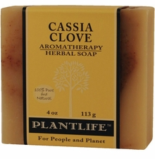Aromatherapy Soap  4 oz. Bar - CASSIA CLOVE - sold out