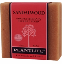 Aromatherapy Soap 4 oz. Bar - SANDALWOOD