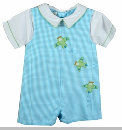Baby Boys Airplane Shirtall and Shirt Set