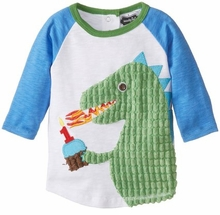 Baby-Boys Infant Dino Birthday Shirt Size 12-18 months - sold out