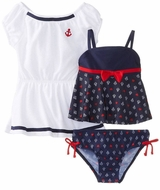 Baby Buns Girls Sail Love Tankini
