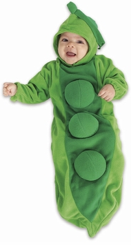 Baby Bunting Costume Pea In The POD Costume - OUT OF STOCK
