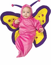 Baby Butterfly Costume - Hot PInk