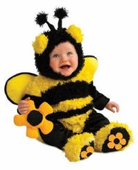 Baby Buzzy Bumblebee - Bee Costume for Newborn or Infant Babies