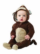 Baby Costume Monkey Bunting Newborn Halloween Costume