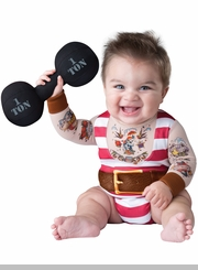 Baby Costume : Silly Strongman Costume