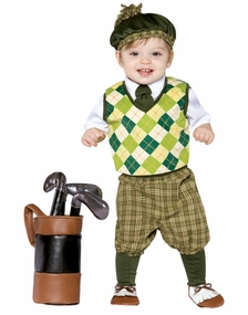 Baby Costumes -  Costumes for Toddlers or Boys - Golfer Costume