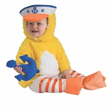 Baby Duck Costume with RATTLE - SALE !