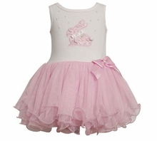 Baby Easter Dress: Pink Bunny Tutu Dress  SOLD OUT