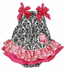 Baby Girls Diva Swing Top Dress