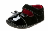 Baby Girls Dress Shoes Black Patent