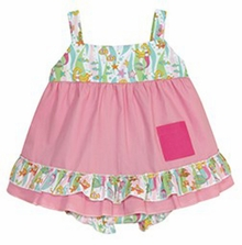 Baby Girls Go Fish Swing Dress Set