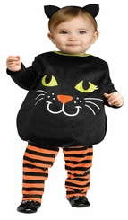 Baby-Girls Itty Bitty Kitty Infant Cat Costume