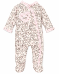 Baby Girls Leopard Footie - sold out