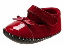 Baby Girls Red Dress Shoes - Red  Patent