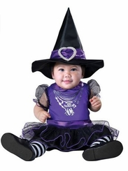 Baby Halloween Costume : Baby Girls Witch and Fabulous