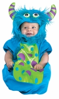 Baby Halloween Costume - Monster Boy Baby Bunting Costume