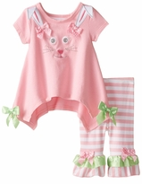 Baby Infant Easter Bunny Face Legging Set - SOLD OUT