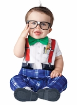 Baby Infant Halloween Costume  - Nursery Nerd Costume