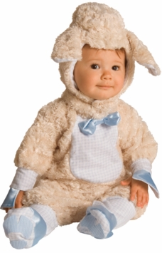 Baby Lamb Costume - Blue Bowtie - Out of Stock