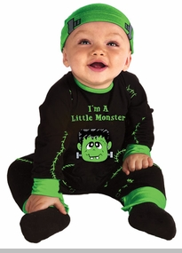 Baby Monster Costume - Lil Monster Newborn or Infant Costume