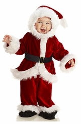 Baby Santa Costume - Infant or Toddler Costume