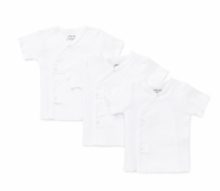 Baby Undershirts - Side Snap Undershirts - PACK OF 3