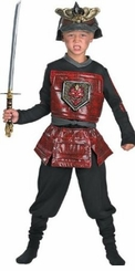 Battle Cry Samurai Costume - Boys Halloween Costumes