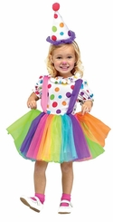 Big Top Fun Costume - Clown Costume