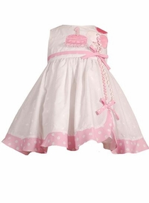 Birthday Dress With Velcro Numbers - SOLD OUT
