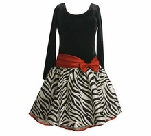Black and White Zebra Print Dress  SOLD OUT