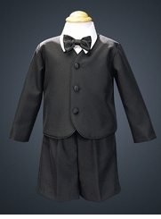 Black Formal Eton Suit - Infant / Toddler SOLD OUT