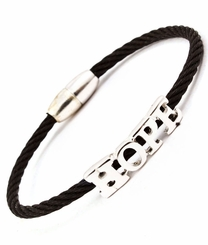 Black Hope Bracelet Magnetic