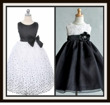 BLACK /  WHITE  Dresses or BLACK/Ivory Dresses