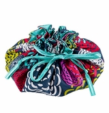 Bloomin' Iota Chic Jewelry Pouch