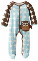 Blue Newborn Baby Boy's Sleeper: Mud Pie Owl Baby Owl Piece - SOLD OUT