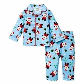 Blue Santa Pajamas - Christmas Pajamas - SOLD OUT