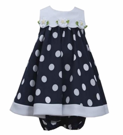 Bonnie Jean Baby Girls Dress Dot Daisy