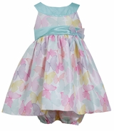Bonnie Jean Baby-Girls Easter Dress Pastel Shantung