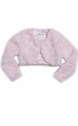 Bonnie Jean Baby Girls Faux-Fur Shrug