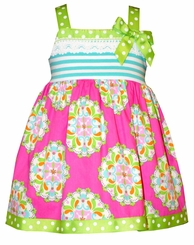 Bonnie Jean Baby Girls Medallion Infant Sundress
