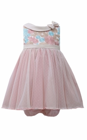 Bonnie Jean Baby-Girls Multi Color Rose Dress
