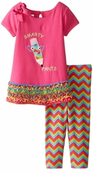 Bonnie Jean Baby-Girls Smarty Pants Legging Set