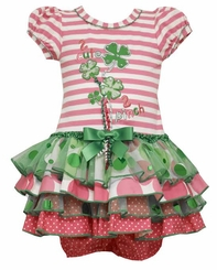 Bonnie Jean Baby-Girls St Patrick's Day Shamrock Tutu Dress - SOLD OUT
