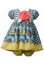 Bonnie Jean Baby-Girls Vintage Daisy Dress