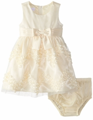Bonnie Jean Baby Girls Yellow Easter Dress - Chiffon